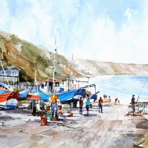 Filey angler (M)