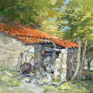 Masons shed, Dordogne