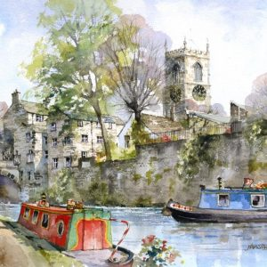 By Skipton Canal (L)