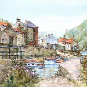 Calm at Staithes (L)
