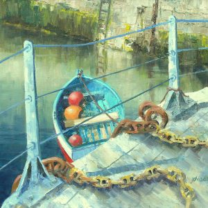 Yellow Chains - oil on canvas - £20in x 16in - £450